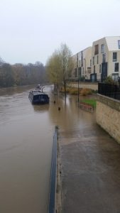 Bath Riverside flood 2016