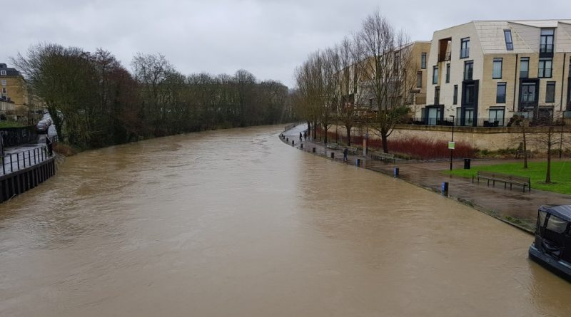 Bath Riverside flood potential